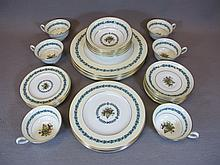 English Wedgwood set of plates and cups