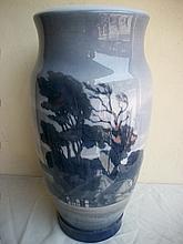 Huge Antique Royal Copenhagen flower vase