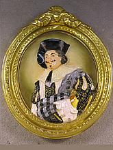 Old English Wedgwood porcelain plaque