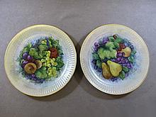 Hutschenreuther German pair of plates