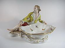 German KPM porcelain statue