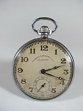 Old pocket clock from South America, Andres Repetto y Cia