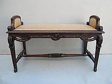 Antique French Louis XVI bench