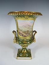 Antique French probably Sevres porcelain vase