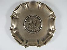 Antique Austrian 800 silver with coin