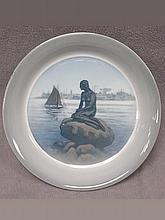 Antique Royal Copenhagen porcelain plate