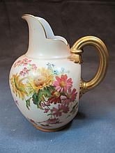 Antique Royal Worcester pitcher