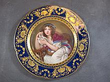 Theodore Havilland, Limoges porcelain plate