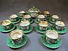 French teapot set of 13 porcelain pcs