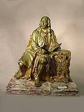 French school bronze statue
