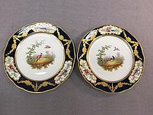 Mappin & Webb English pair of plates