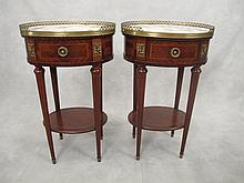 Antique French Louis XVI pair of tables