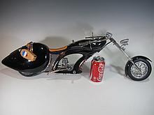 Great motorcycle miniature model