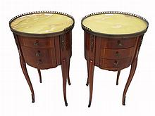 Antique pair of French Louis XV tables