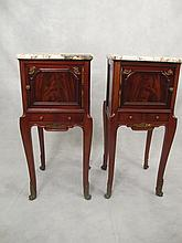 Antique French Louis XV pair of tables