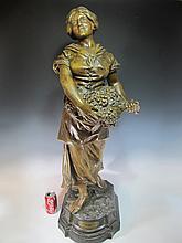 Luis DOMENECH (1873-?) spelter statue
