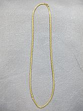 Chain, 14 k yellow gold, 10 grams
