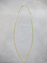 Chain, 14 k yellow gold, 8 grams