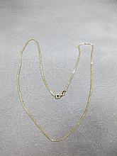 Chain, 14 k yellow gold, 3 grams