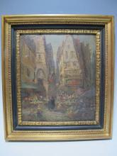 Jean SORLAIN (1859-1942) French artist painting