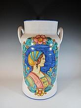 Large Spanish ceramic jar