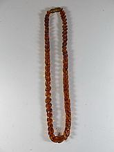 Vintage Asian amber necklace