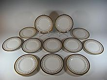 Set of 12 Royal Worcester Imperial plates