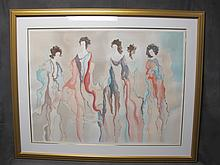 Large signed serigraph