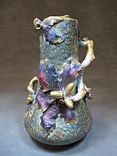 Art Nouveau Amphora porcelain vase