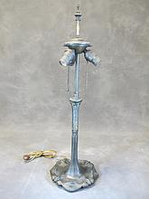 Antique American lamp base