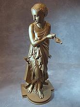 Auguste Joseph PEIFFER (1832-1886) bronze statue