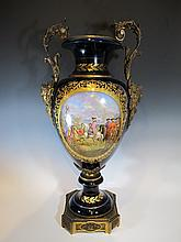 Large 19th C French Sevres urn