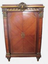 19th C French ormolu cabinet
