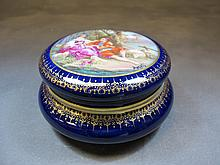 Antique Limoges porcelain box