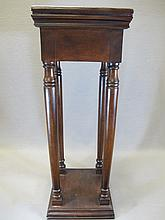 Old English mahogany pedestal