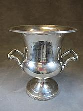 Old silverplate ice bucket