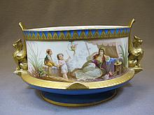 Antique Vienna porcelain bowl