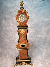 Amazing large antique French Boulle clock