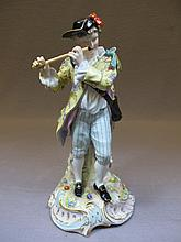 Antique German porcelain statue