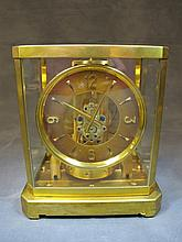 JAEGER LECOULTRE 'ATMOS' Brass mantle clock