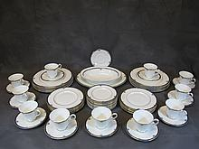 Royal Doulton porcelain set with 50 pcs