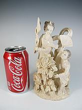 Antique Japanese carved sculpture