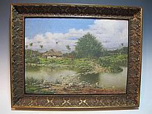 Gonzalo ESCALANTE (1865-1939) Cuban artist painting