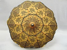 Old French embroidery umbrella