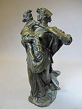 Francesco DE MATTEIS (1852-1917) bronze statue
