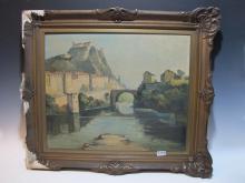 Léon Julien Ernest SONNIER (XIX) (Attrib) French artist painting