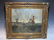Gustave FLASSCHOEN (1868-1940) Belgian artist painting