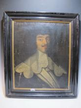 17th/18th C Duke of Longueville oil on canvas painting