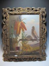 Signed G.PIEROTTI, 1872 oil on canvas painting