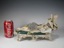 Probably German antique porcelain figurine